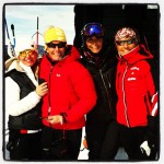 Girlsa på start Slalom VeteranNM 2013 - Instagram