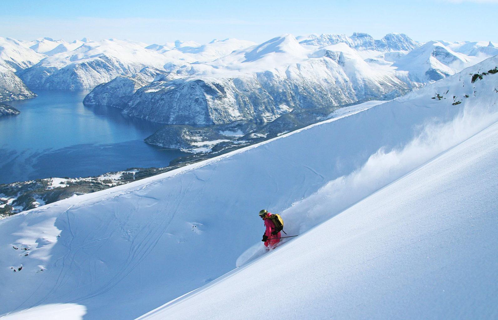 Strandafjellet Ski Resort Foto: Simen Berg