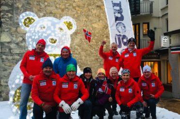 Tidenes beste norske resultat i VM Masters i Megève med totalt 12 medaljer