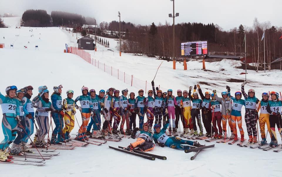 NM Mastert 2019 Hafjell - Rekordstor GS kvinneklasse